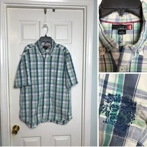 Quiksilver Casual Shirt. Size Large